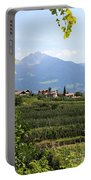 Tyrolean Alps And Vineyard Portable Battery Charger
