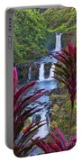 Umauma Falls Big Island Hawaii Portable Battery Charger