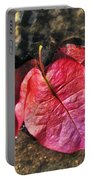 Underwater - Bougainvillea Petals Portable Battery Charger