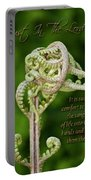 Unfurling Faith Portable Battery Charger