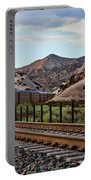 Union Pacific Tracks Portable Battery Charger