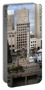 Union Square Sf Portable Battery Charger by Ron Bissett