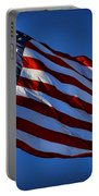 United States Of America - Usa Flag Portable Battery Charger