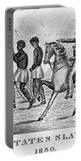 United States Slave Trade Portable Battery Charger by Photo Researchers