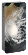 Unnamed Tropical Cyclone Approaching Portable Battery Charger