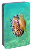 Unwelcome Jellyfish Portable Battery Charger