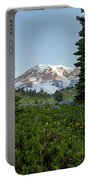 Upon A Hill Of Flowers Portable Battery Charger