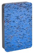 Urban Abstract Blue Portable Battery Charger