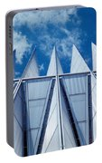 Us Air Force Academy Chapel Portable Battery Charger