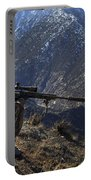 U.s. Army Sniper Provides Security Portable Battery Charger