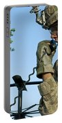 U.s. Army Soldier Calls For Indirect Portable Battery Charger