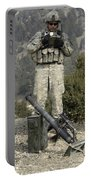 U.s. Army Soldier Gets Information Portable Battery Charger