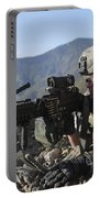 U.s. Army Soldier Provides Overwatch Portable Battery Charger