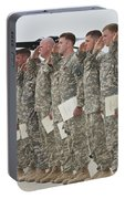 U.s. Army Soldiers And Recipients Portable Battery Charger