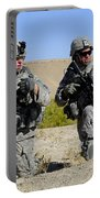 U.s. Army Soldiers Familiarize Portable Battery Charger