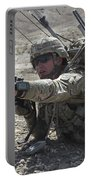 U.s. Army Soldiers Provide Security Portable Battery Charger