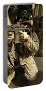 U.s. Army Soldiers Providing Overwatch Portable Battery Charger by Stocktrek Images