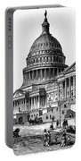 U.s. Capitol, 1884 Portable Battery Charger
