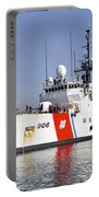 U.s. Coast Guard Cutter Uscgc Seneca Portable Battery Charger by Stocktrek Images