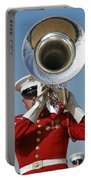 U.s. Marine Corps Drum And Bugle Corps Portable Battery Charger