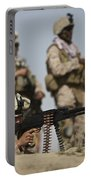 U.s. Marine Prepares To Fire A Pk Portable Battery Charger