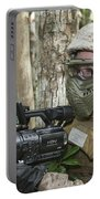 U.s. Marine Videotapes Combat Exercises Portable Battery Charger