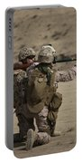 U.s. Marines Load A Fragmentation Round Portable Battery Charger