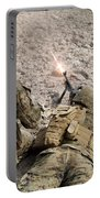 U.s. Marines Provide Suppressive Fire Portable Battery Charger