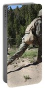 U.s. Marines Training At The Mountain Portable Battery Charger by Stocktrek Images