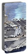 Uss Abraham Lincoln Transits Portable Battery Charger