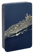Uss Abraham Lincoln Transits The Indian Portable Battery Charger