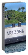 Uss Arizona Bb 39 Marker Portable Battery Charger