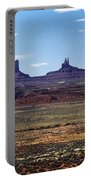 Utah, Usa Highway And Rock Formations Portable Battery Charger