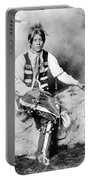 Ute Man, C1906 Portable Battery Charger