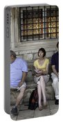 Vacation In Venice Portable Battery Charger