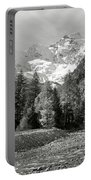Val Di Cogne In The Italian Alps Portable Battery Charger