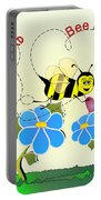 Valentine Bee Mine Portable Battery Charger