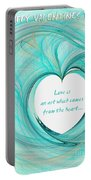 Valentines Day Portable Battery Charger
