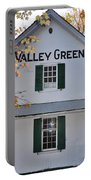 Valley Green Inn - Side View Portable Battery Charger