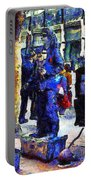 Van Gogh Is Captivated By A San Francisco Street Performer . 7d7246 Portable Battery Charger