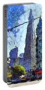Van Gogh Sips Absinthe And Takes In The Views From North Beach In San Francisco . 7d7431 Portable Battery Charger