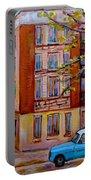 Van Horne Boulevard Montreal Street Scene Portable Battery Charger