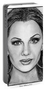 Vanessa Williams In 2009 Portable Battery Charger by J McCombie