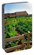 Vegetable Farm Portable Battery Charger
