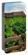 Vegetable Farm Portable Battery Charger by Carlos Caetano