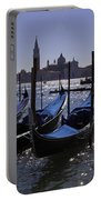 Venice At Dusk Portable Battery Charger
