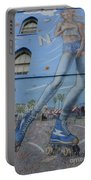 Venice Beach Wall Art 9 Portable Battery Charger