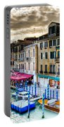 Venice Canal Taxi Portable Battery Charger