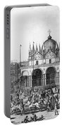 Venice: Saint Marks, 1797 Portable Battery Charger