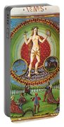 Venus Ruler Of Taurus And Libra Portable Battery Charger